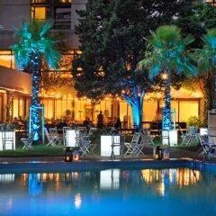 Отель Lisbon Marriott Hotel Португалия, Лиссабон - отзывы, цены и фото номеров - забронировать отель Lisbon Marriott Hotel онлайн бассейн фото 3