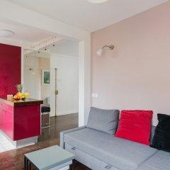 Апартаменты Le Marais - Place des Vosges Apartment комната для гостей фото 4