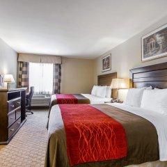 Отель Comfort Inn Monterey Park Монтерей-Парк сауна