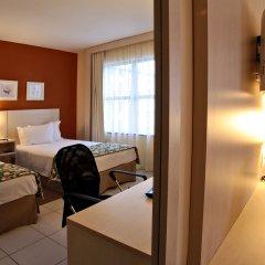 Отель Comfort Inn & Suites Ribeirão Preto Бразилия, Рибейран-Прету - отзывы, цены и фото номеров - забронировать отель Comfort Inn & Suites Ribeirão Preto онлайн комната для гостей фото 2
