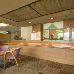 Отель Kyukamura Minami-Aso National Park Resort Villages Of Japan Минамиогуни гостиничный бар