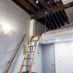 Апартаменты Studio Petit Pompidou Париж комната для гостей фото 5