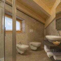 Отель Garnì Caminetto Горнолыжный курорт Скирама Доломити Адамелло Брента ванная