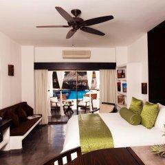 Отель Bahia Hotel & Beach House Мексика, Кабо-Сан-Лукас - отзывы, цены и фото номеров - забронировать отель Bahia Hotel & Beach House онлайн комната для гостей фото 4