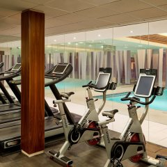 Отель Landmark London фитнесс-зал фото 4