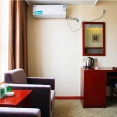 Отель GreenTree Inn ShanXi Xi'An Longshouyuan Metro Station Express Hotel Китай, Сиань - отзывы, цены и фото номеров - забронировать отель GreenTree Inn ShanXi Xi'An Longshouyuan Metro Station Express Hotel онлайн удобства в номере