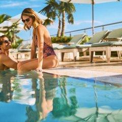 Отель Marriott Stanton South Beach фитнесс-зал