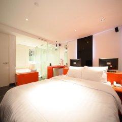 Отель Pop Jongno Южная Корея, Сеул - отзывы, цены и фото номеров - забронировать отель Pop Jongno онлайн комната для гостей фото 2