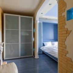 Апартаменты Delegatskaya Apartment Москва комната для гостей фото 3