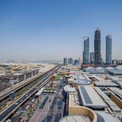 Отель MaisonPrive Holiday Homes - Address Dubai Mall Дубай балкон