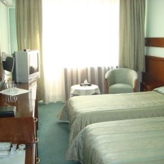 Отель Отрар Алматы комната для гостей фото 3