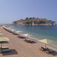 Отель Aman Sveti Stefan пляж фото 2