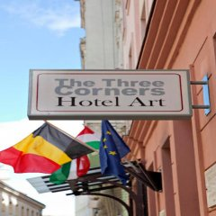 The Three Corners Hotel Art спортивное сооружение