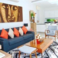 Отель Skylight 2 bedrooms New Villa in Kamala комната для гостей фото 5