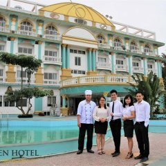 Queen Hotel Thanh Hoa бассейн фото 2