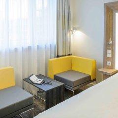 Отель Novotel München City Arnulfpark Германия, Мюнхен - 2 отзыва об отеле, цены и фото номеров - забронировать отель Novotel München City Arnulfpark онлайн комната для гостей фото 5