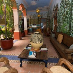 Hotel Casa San Angel - Только для взрослых интерьер отеля фото 3