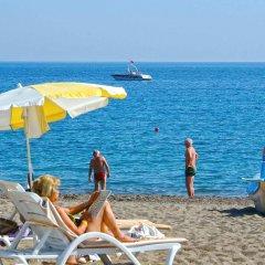 Gardenia Beach Hotel Турция, Окурджалар - 1 отзыв об отеле, цены и фото номеров - забронировать отель Gardenia Beach Hotel - All Inclusive онлайн пляж