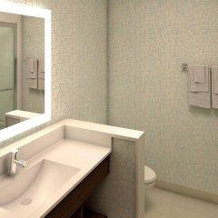 Отель Holiday Inn Express & Suites Jersey City North - Hoboken, an IHG Hotel США, Джерси - отзывы, цены и фото номеров - забронировать отель Holiday Inn Express & Suites Jersey City North - Hoboken, an IHG Hotel онлайн ванная