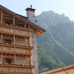 Hotel Posta Форни-ди-Сопра балкон