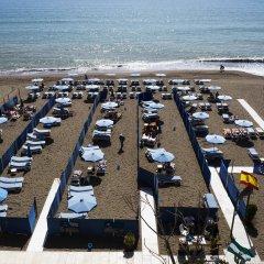 Hotel Mediterraneo Carihuela пляж