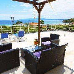 Отель Salonikiou Beach Deluxe Apartments Греция, Аристотелес - отзывы, цены и фото номеров - забронировать отель Salonikiou Beach Deluxe Apartments онлайн фото 9