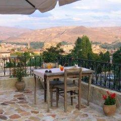 Selcuklu Evi Cave Hotel - Special Class Турция, Ургуп - отзывы, цены и фото номеров - забронировать отель Selcuklu Evi Cave Hotel - Special Class онлайн балкон