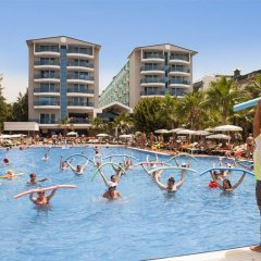 Concordia Celes Hotel - Ultra All Inclusive Турция, Окурджалар - отзывы, цены и фото номеров - забронировать отель Concordia Celes Hotel - Ultra All Inclusive онлайн бассейн