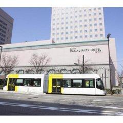 Oarks canal park hotel Toyama Тояма городской автобус