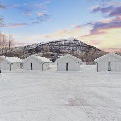 Отель Tromsø Camping спортивное сооружение