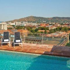 Отель NH Barcelona Stadium Испания, Барселона - отзывы, цены и фото номеров - забронировать отель NH Barcelona Stadium онлайн бассейн фото 2