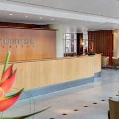 Steigenberger Hotel Hamburg интерьер отеля