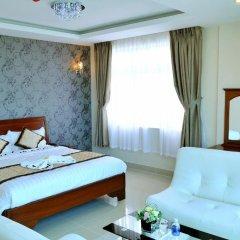Отель Corvin Hotel Вьетнам, Вунгтау - отзывы, цены и фото номеров - забронировать отель Corvin Hotel онлайн комната для гостей фото 4