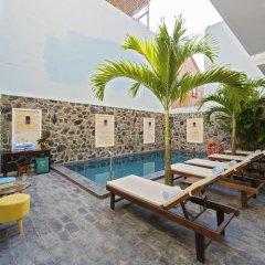 Отель Golden Palm Villa Вьетнам, Хойан - отзывы, цены и фото номеров - забронировать отель Golden Palm Villa онлайн бассейн фото 3