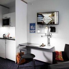 Отель Cabinn Aarhus Hotel Дания, Орхус - 2 отзыва об отеле, цены и фото номеров - забронировать отель Cabinn Aarhus Hotel онлайн удобства в номере фото 2