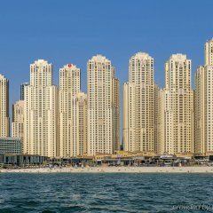 Отель Delta by Marriott Jumeirah Beach пляж