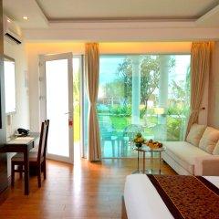 Отель Dessole Beach Resort Nha Trang Вьетнам, Кам Лам - отзывы, цены и фото номеров - забронировать отель Dessole Beach Resort Nha Trang онлайн комната для гостей