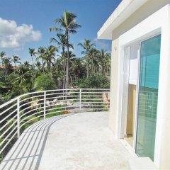 Отель Los Corales Villas & Aparts Ocean View Доминикана, Пунта Кана - отзывы, цены и фото номеров - забронировать отель Los Corales Villas & Aparts Ocean View онлайн балкон