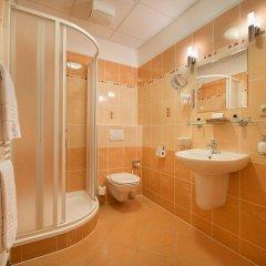 Отель PODHRAD Глубока-над-Влтавой ванная