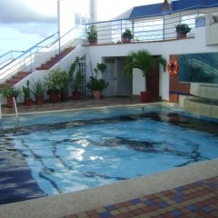 Отель Calypso Beach Колумбия, Сан-Андрес - отзывы, цены и фото номеров - забронировать отель Calypso Beach онлайн бассейн