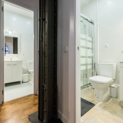 Отель M&F Gran Vía 1 Apartamento Испания, Мадрид - отзывы, цены и фото номеров - забронировать отель M&F Gran Vía 1 Apartamento онлайн ванная