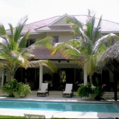 Отель Villa With 3 Bedrooms in Punta Cana, With Private Pool, Furnished Gard бассейн