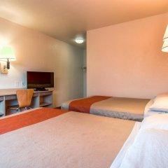 Отель Motel 6 Los Angeles - Whittier США, Уитиер - отзывы, цены и фото номеров - забронировать отель Motel 6 Los Angeles - Whittier онлайн комната для гостей фото 4