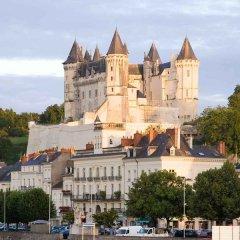 Отель Mercure Bords De Loire Saumur Сомюр городской автобус