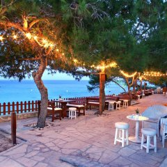 Отель Grecian Park пляж