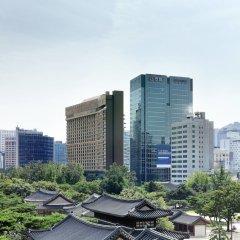 Отель THE PLAZA Seoul, Autograph Collection Южная Корея, Сеул - 1 отзыв об отеле, цены и фото номеров - забронировать отель THE PLAZA Seoul, Autograph Collection онлайн балкон