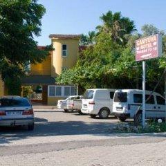 Отель Camyuva Motel Кемер парковка