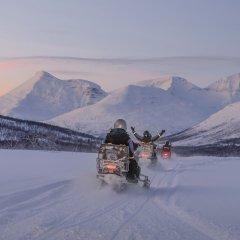 Radisson Blu Polar Hotel Spitsbergen Тромсе спортивное сооружение