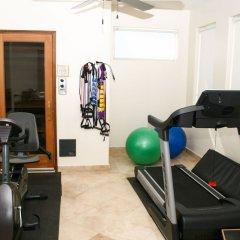 Отель Villa del Mar Педрегал фитнесс-зал