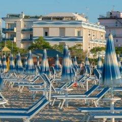 Hotel Corinna Римини пляж фото 2